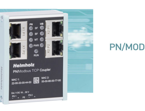 ¡El nuevo PN / ModbusTCP Coupler de Helmholz ya está disponible!