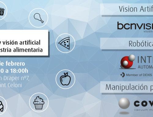 ¡Apúntate a las jornadas de robótica y visión artificial del sector food!